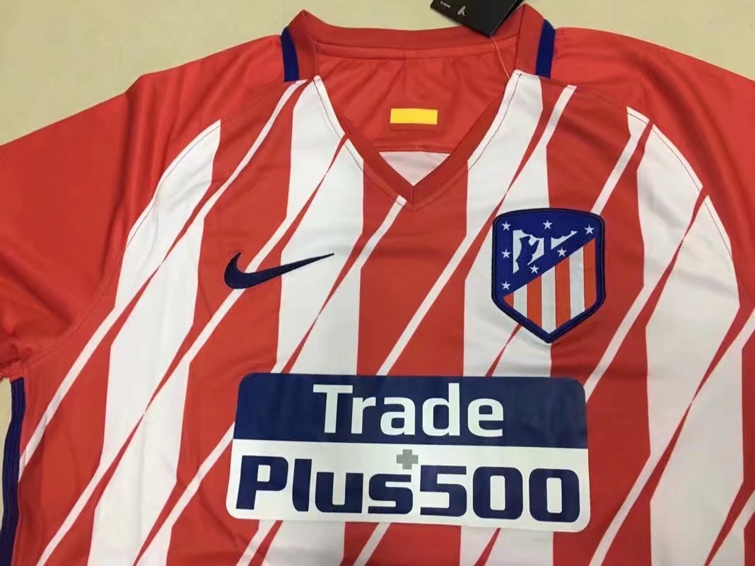 2dd646a54 US$ 16.8 - Atletico Madrid Home Jersey Long Sleeve Men 2017/18 -  www.yajerseyclub.com