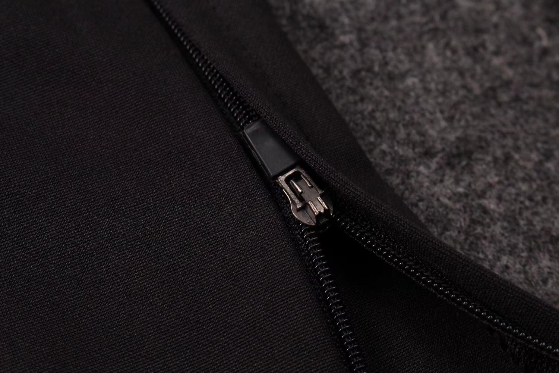 ab3483d53 US$ 34.8 - PSG Training Suit Zipper Light Grey Stripe 2017/18 - www .fcsoccerworld.com