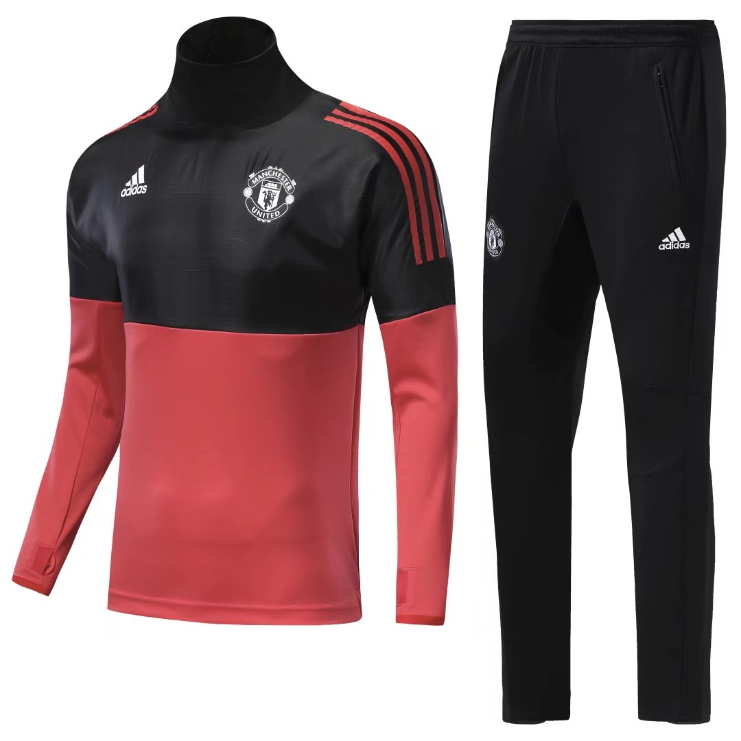 029f39edabc US  34.8 - Manchester United Training Suit Champions League Red Black 2017  18 - www.yajerseyclub.com