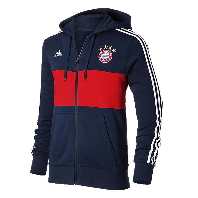 US$ 26.8 - Bayern Munich adidas Lifestyle Zip-Hoodie Away Men 2017/18 -  www.soccerworldfc.net