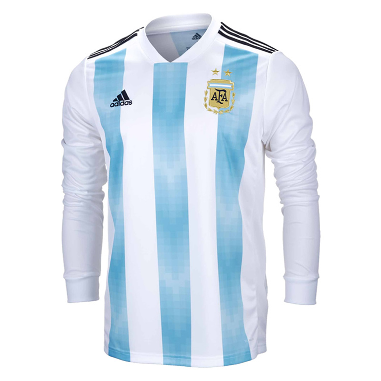 World Home com fcsoccerworld 2018 - Long Fifa Sleeve Jersey Us Argentina Men's 16 8 Cup M cedcaeedaaadef|The Football Overtime Format The NFL Must Adopt