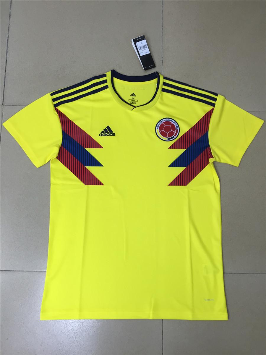 361ad3930b3 US$ 15.8 - Colombia FIFA World Cup 2018 Home Jersey Men's - www .soccerworldfc.net