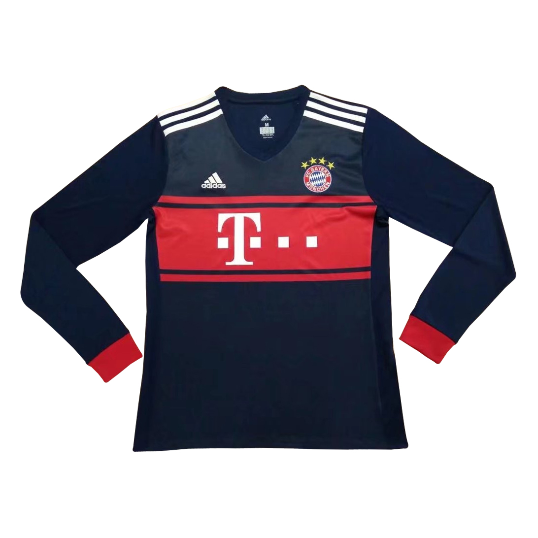 89287938b US$ 16.8 - Bayern Munich Away Jersey Long Sleeve Men 2017/18 - www ...