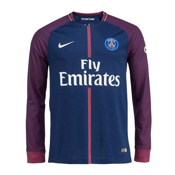 cheap for discount 0a1be 01789 PSG Home Jersey Long Sleeve Men 2017/18