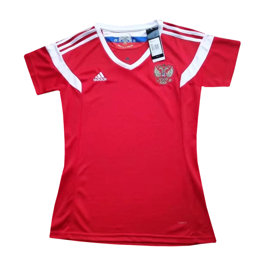 best service 76182 02ecd Russia soccer jersey FIFA World Cup 2018 Home Jersey Women soccer jerseys  for sale