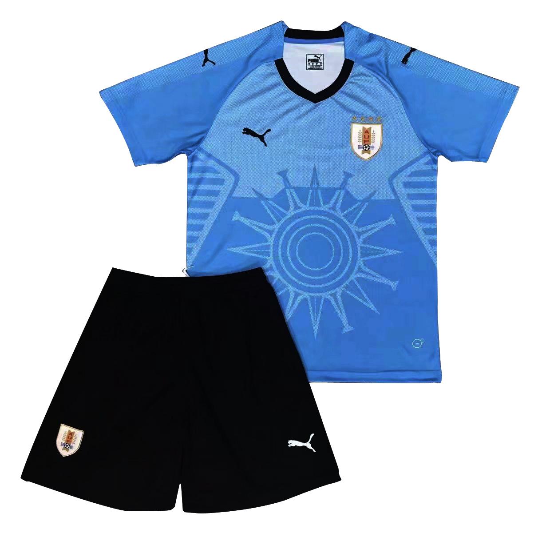 newest 42804 b7575 Uruguay soccer jersey FIFA World Cup 2018 Home Jersey Kids