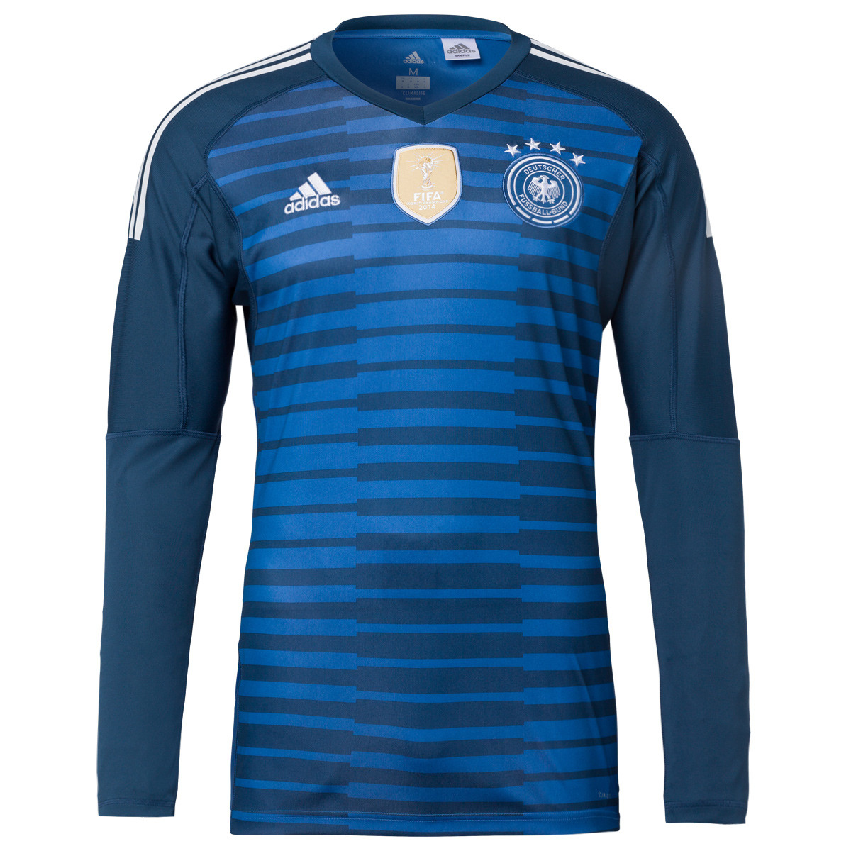 a6c401ba0 US$ 16.8 - Germany FIFA World Cup 2018 Goalkeeper Blue Jersey Long Sleeve  Men's - www.fcsoccerworld.com