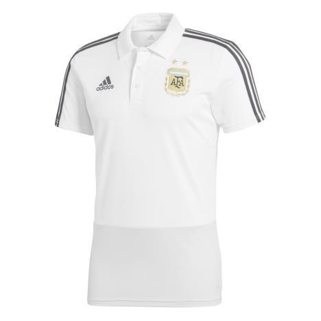 8211133ac11 US$ 15.8 - Argentina FIFA World Cup 2018 Polo Shirt White - www .fcsoccerworld.com
