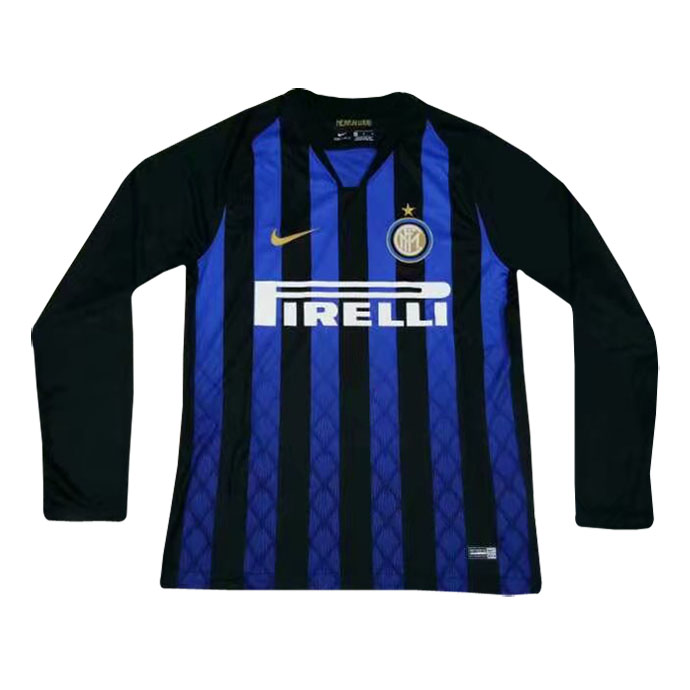 on sale 5ba94 b7bbf Inter Milan Home Jersey Long Sleeve Men's 2018/19