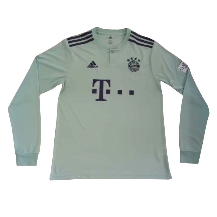 812344b62 US  16.8 - Bayern Munich Away Jersey Long Sleeve Men s 2018 19 -  www.fcsoccerworld.com