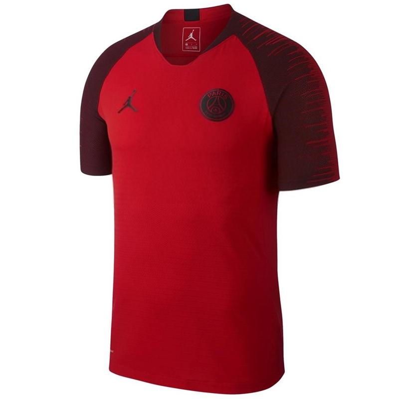 46d3a44e669 US$ 15.8 - PSG x Jordan Pre-Match Short Training Red Jersey Men's 2018/19 -  www.fcsoccerworld.com