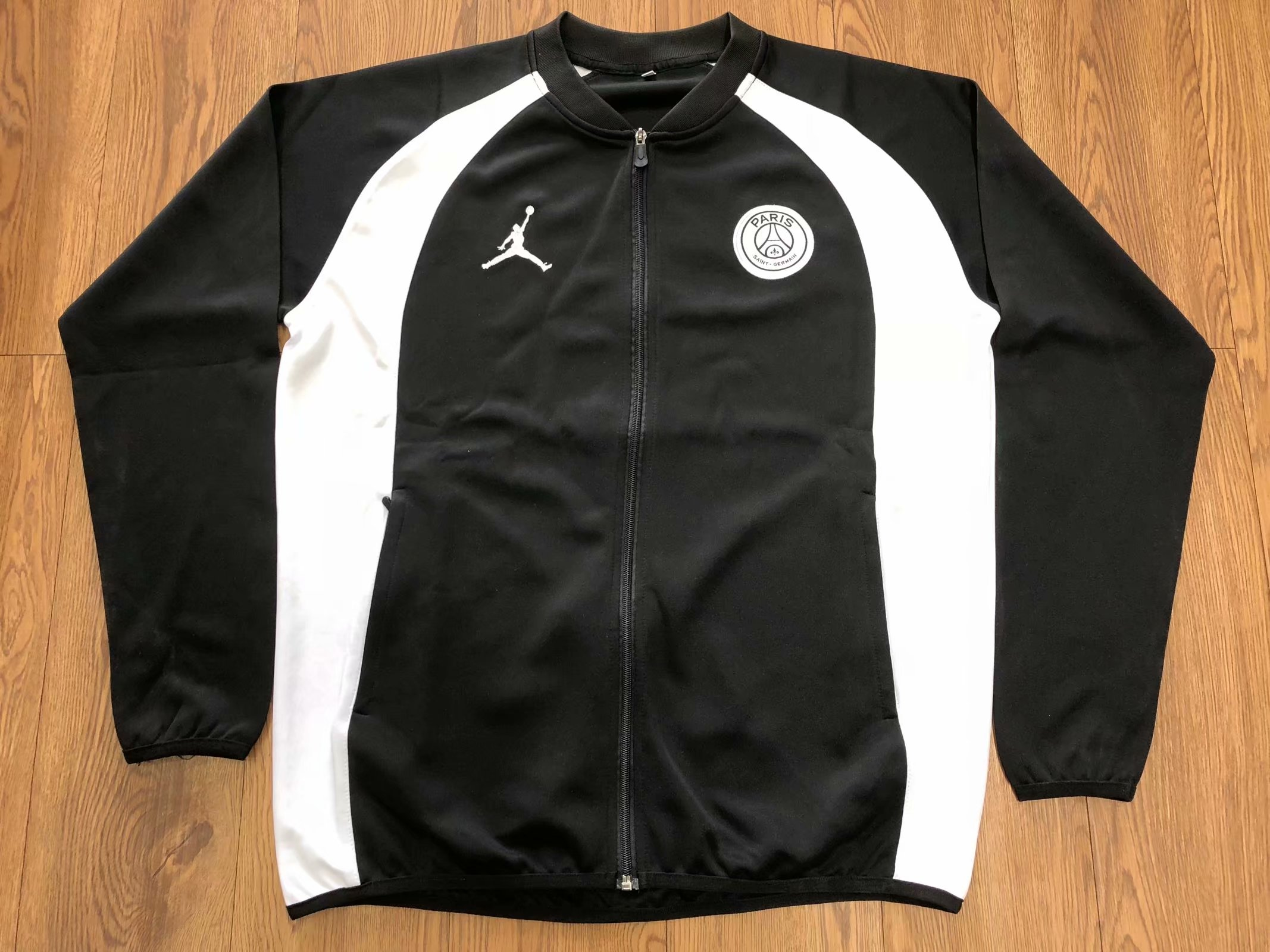 e96290ea6b6f US  26.8 - PSG JORDAN Flight Knit 18 19 Jacket - www.fcsoccerworld.com