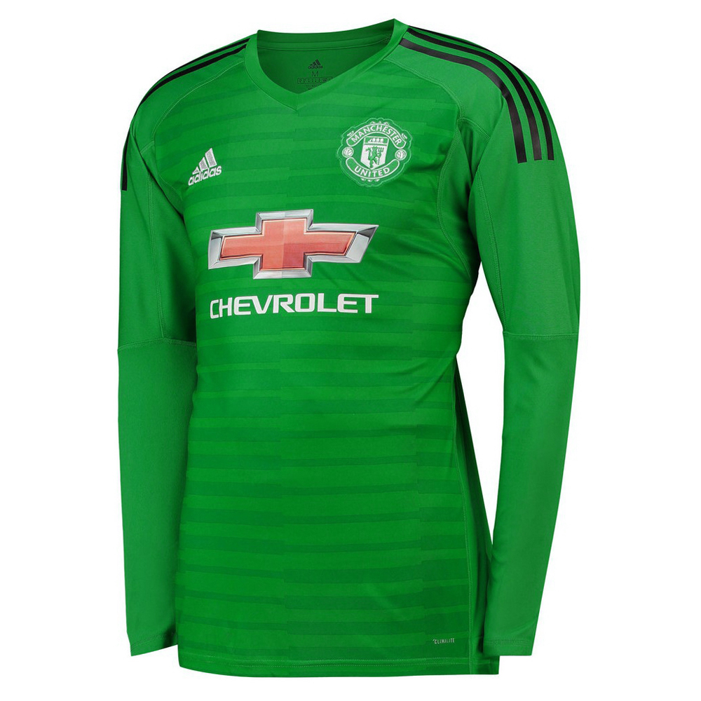 8abf19dab83 US  16.8 - Manchester United Goalkeeper Green Jersey Long Sleeve Men s 2018  19 - www.fcsoccerworld.com