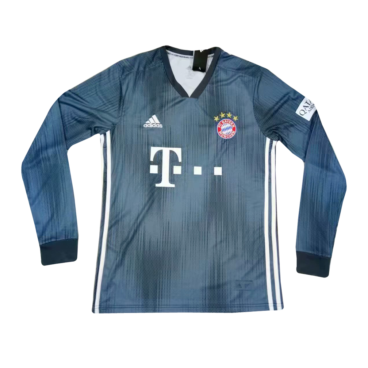 aba9c57b0 US  16.8 - Bayern Munich Third Jersey Long Sleeve Men s 2018 19 -  www.fcsoccerworld.com