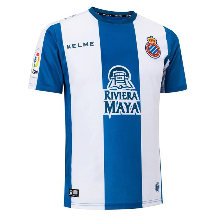 c8b3b268c US$ 15.8 - RCD Espanyol Home Jersey Men's 2018/19 - www.fcsoccerworld.com