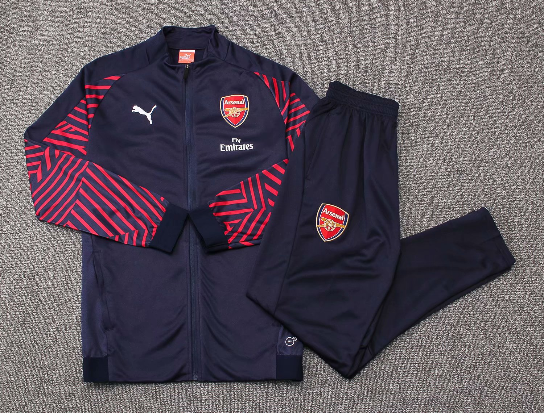 fd02a7ae5 US  37.8 - Arsenal Jacket + Pants Training Suit Blue 2018 19 -  www.fcsoccerworld.com