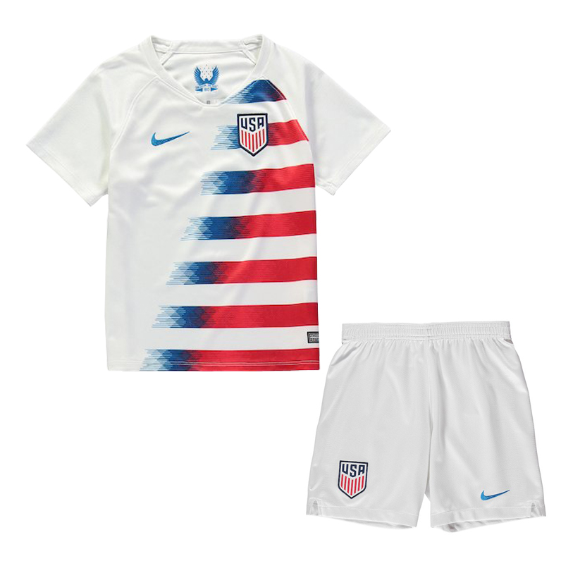48dc33d8d24 US$ 14.8 - USA 2018 Home Jersey Kids' - www.fcsoccerworld.com