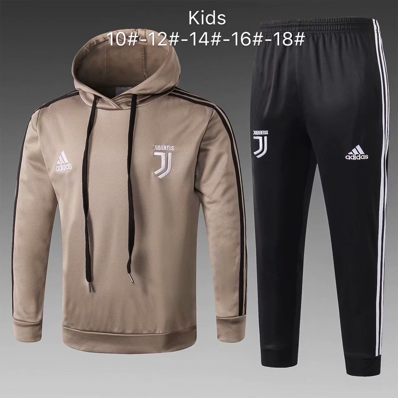 9f6fa4afb US$ 33.8 - Kids Juventus Apricot Hoodie Sweatshirt + Pants Suit 2018 ...