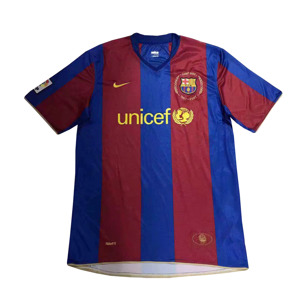 1ceb6c79d18 US  17.8 - Barcelona Retro Home Jersey Men s 2007 08 - www.fcsoccerworld.com
