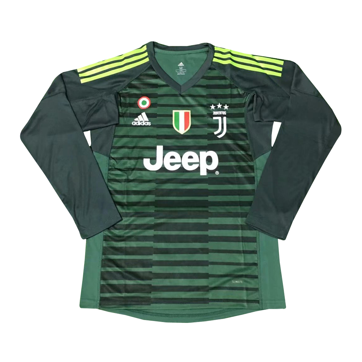 cdfab84af22 US  16.8 - Juventus Goal Keeper Jersey Green Long Sleeve Men s 2018 19 -  www.fcsoccerworld.com