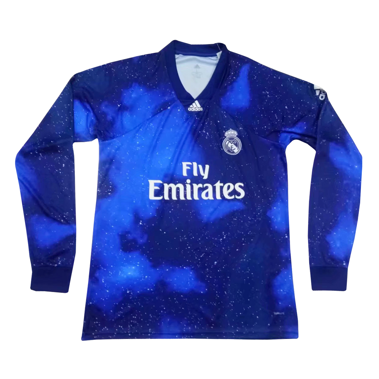 watch ca1f8 64db4 Real Madrid EA SPORTS Jersey Long Sleeve Men's 2018/19