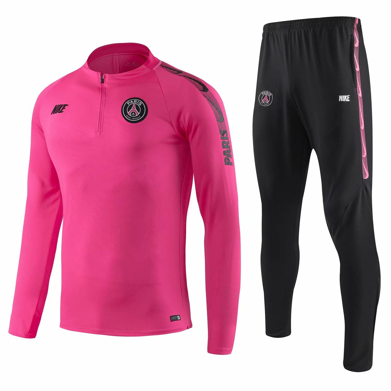 7be8b78d799950 US  34.8 - PSG Training Suit Pink 2019 20 - www.fcsoccerworld.com