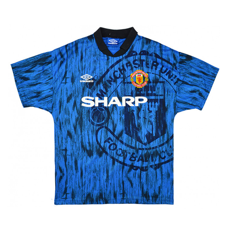 ad5d684371c US  17.8 - Manchester United Retro Away Jersey Men s 1992 93 - www ...