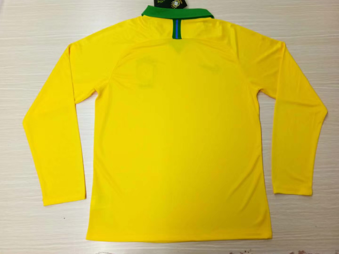 1ba37827b US  16.8 - Brazil Copa America 2019 Home Jersey Long Sleeve Men s -  www.fcsoccerworld.com