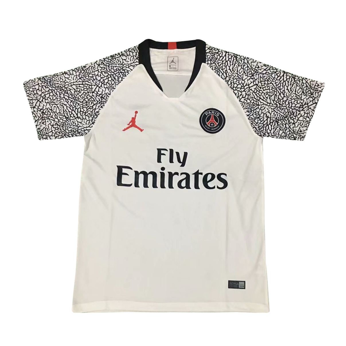 Us 15 8 Psg X Jordan Short Training White Jersey Men S 2019 20