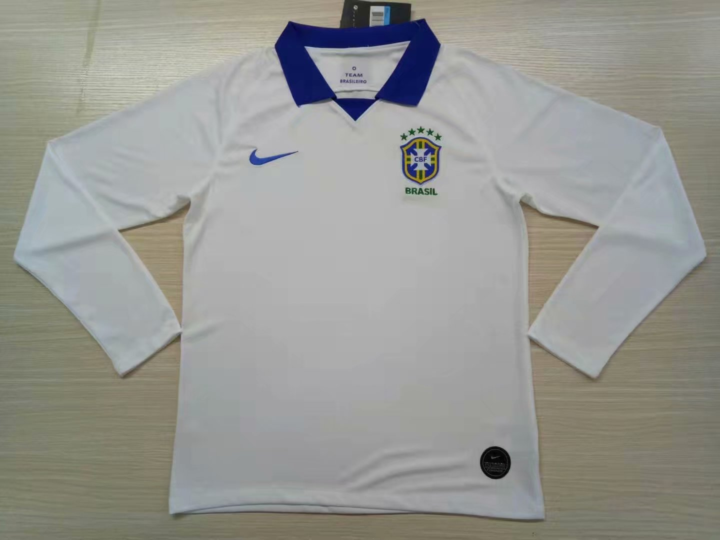 ca8036917 US  16.8 - Brazil Copa America 2019 Away Jersey Long Sleeve Men s -  www.fcsoccerworld.com