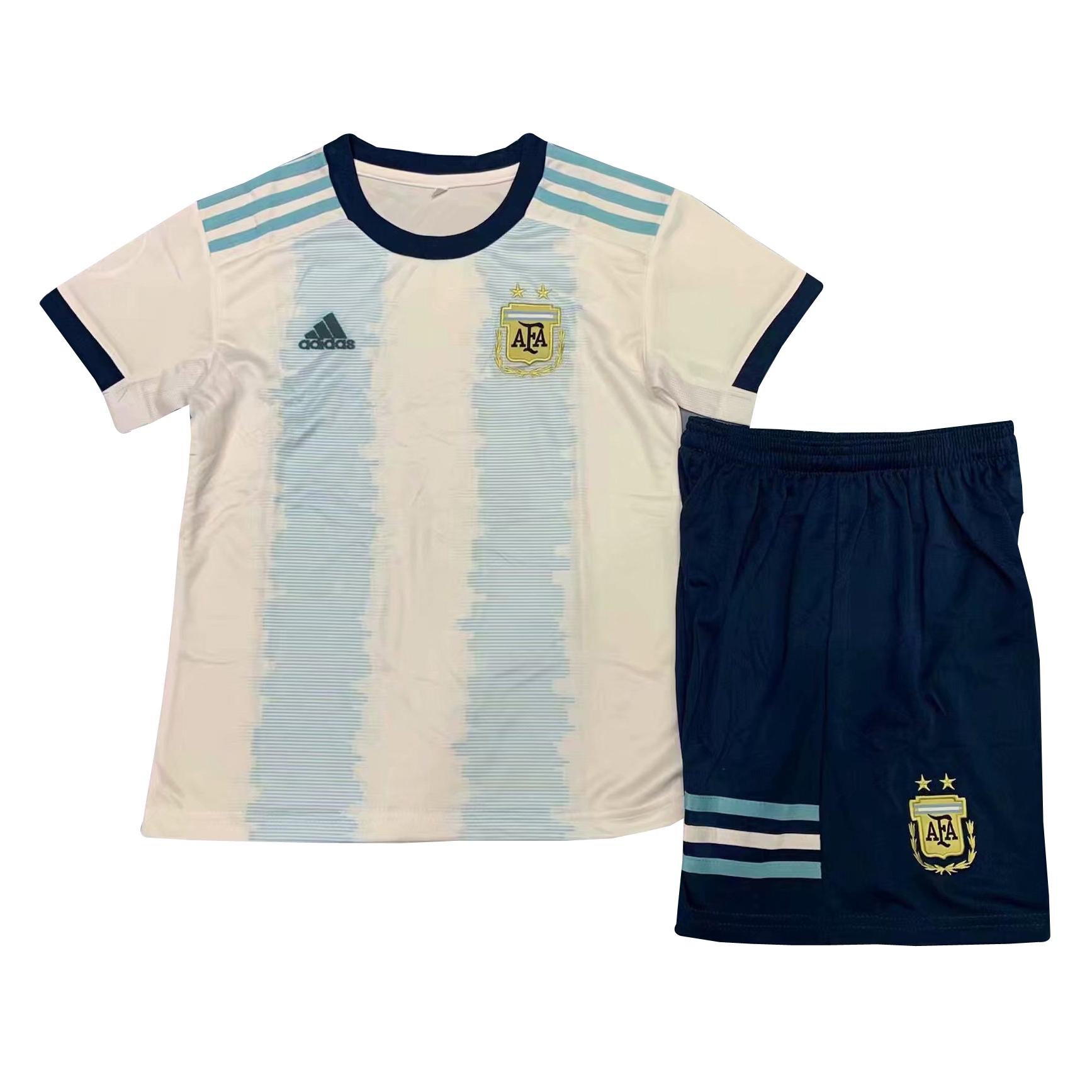 305f55357cd US$ 14.8 - Argentina Copa America 2019 Home Jersey Kids' -  www.fcsoccerworld.com