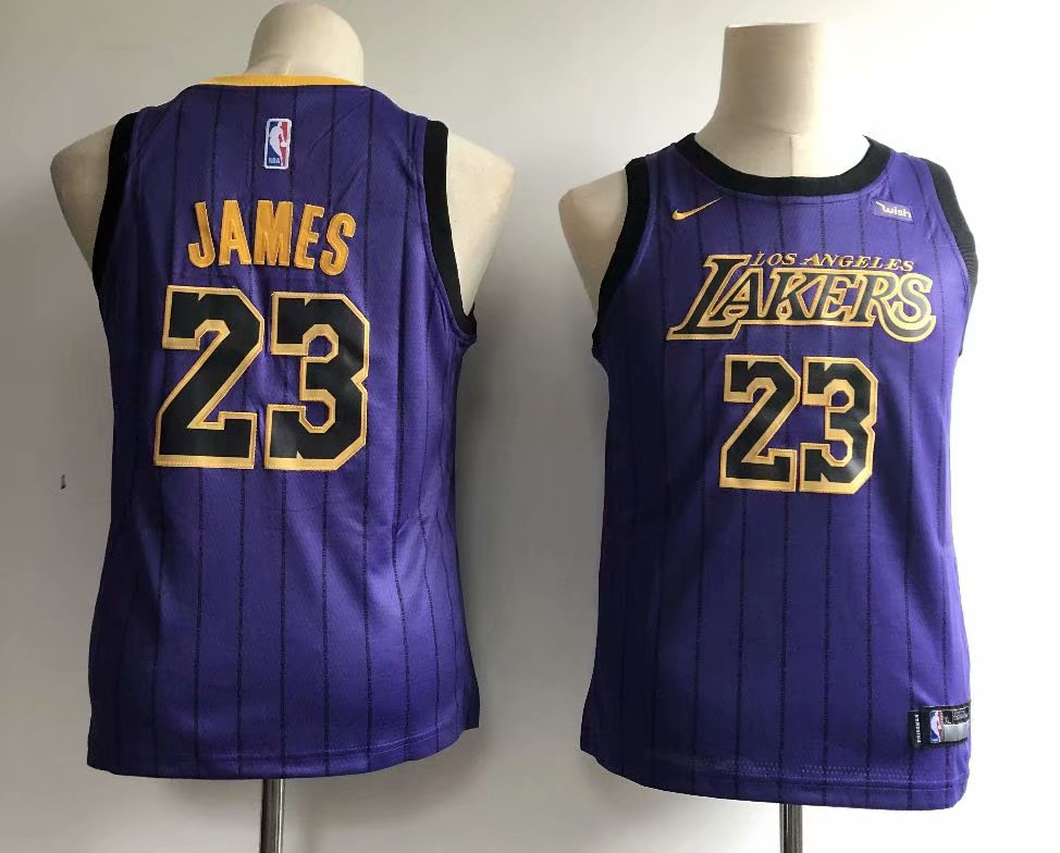 303b5eca782 US$ 18.8 - Men's Los Angeles Lakers LeBron James 23 Nike Purple 2018/19  Swingman Jersey – City Edition - www.fcsoccerworld.com