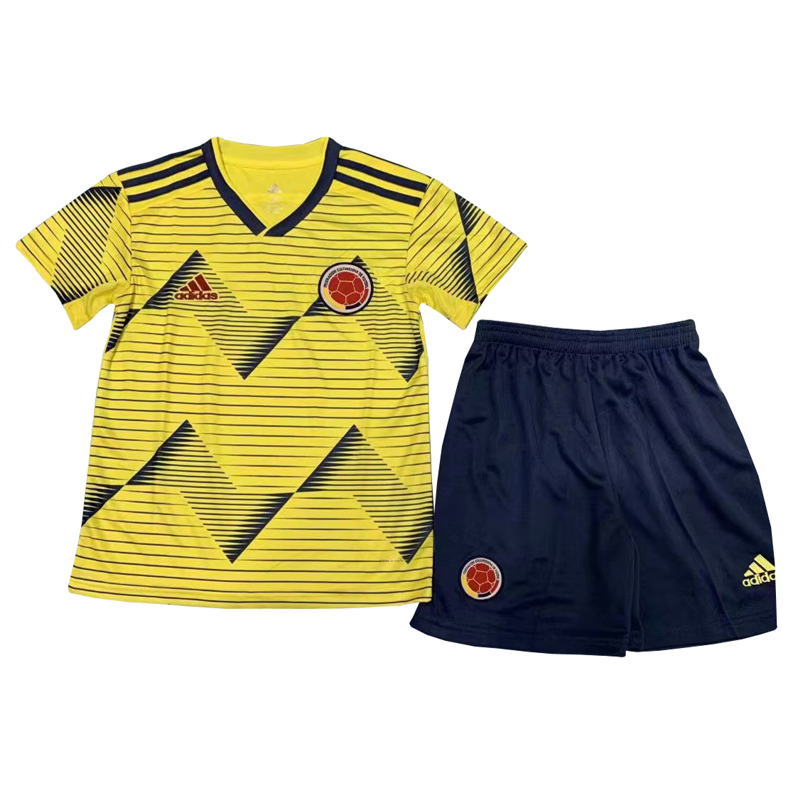 8ede53ca623 US$ 14.8 - Colombia Copa America 2019 Home Jersey Kids' -  www.fcsoccerworld.com