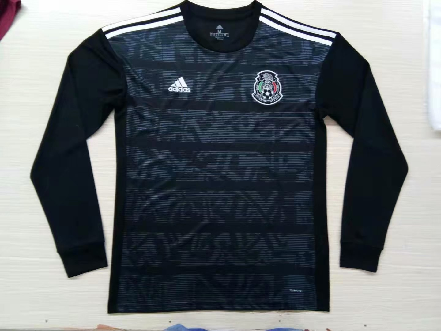 3b741eb88 US  16.8 - Mexico Copa America 2019 Home Long Sleeve Jersey Men s -  www.fcsoccerworld.com
