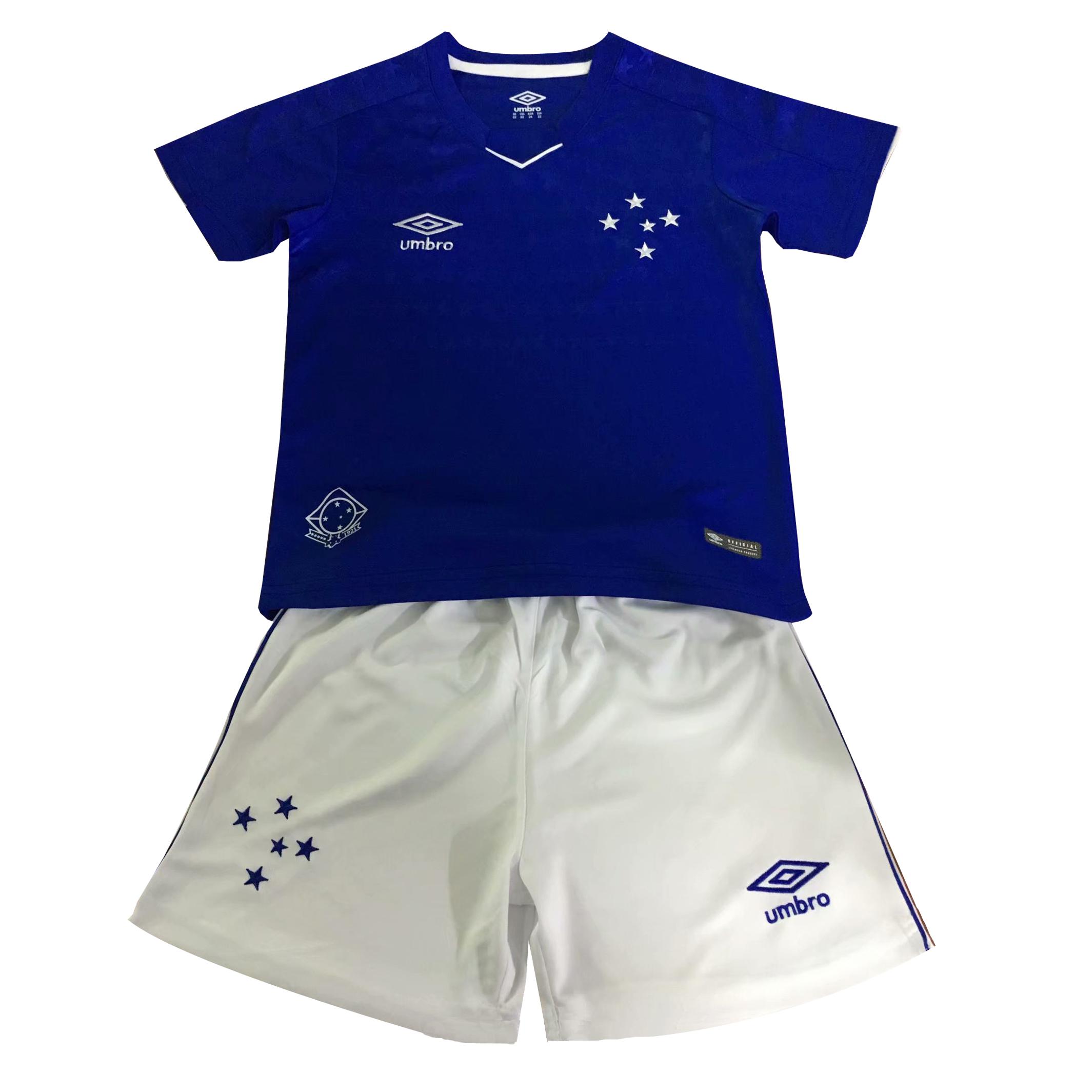 bd733d2e047 US$ 14.8 - Cruzeiro Home Jersey Kids' 2019/20 - www.fcsoccerworld.com