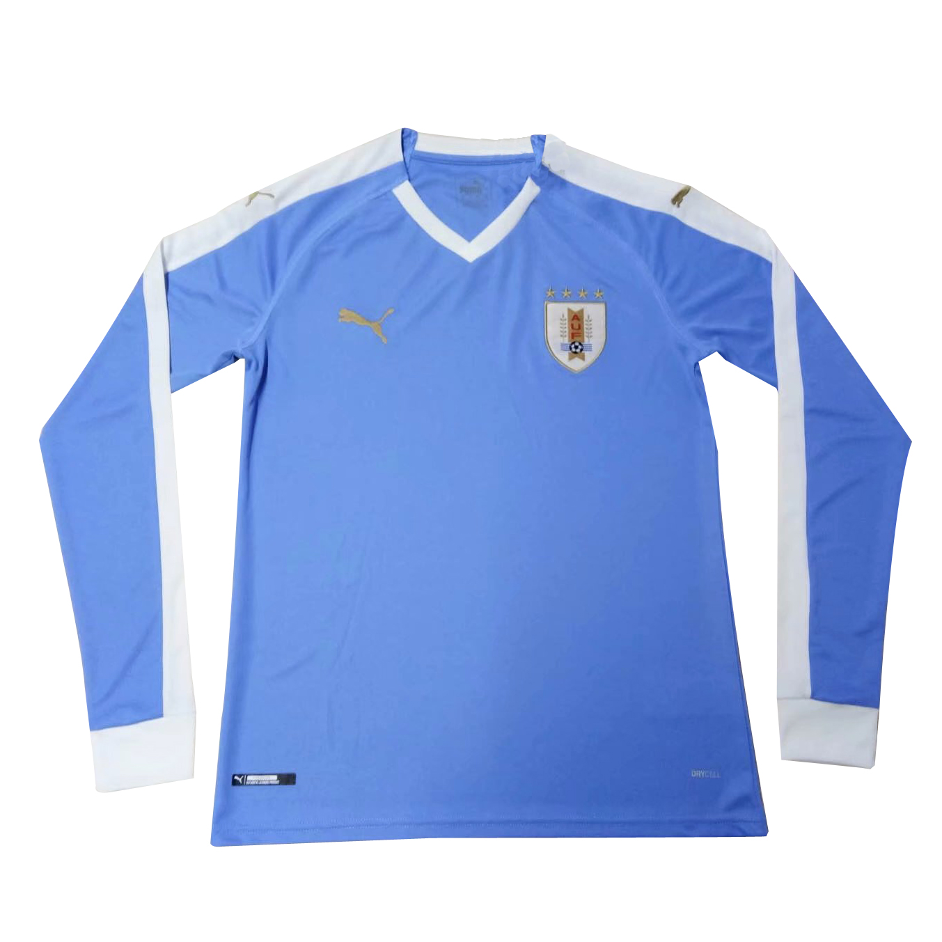 04ca96a66 US  16.8 - Uruguay Copa America 2019 Home Jersey Long Sleeve Men s -  www.fcsoccerworld.com