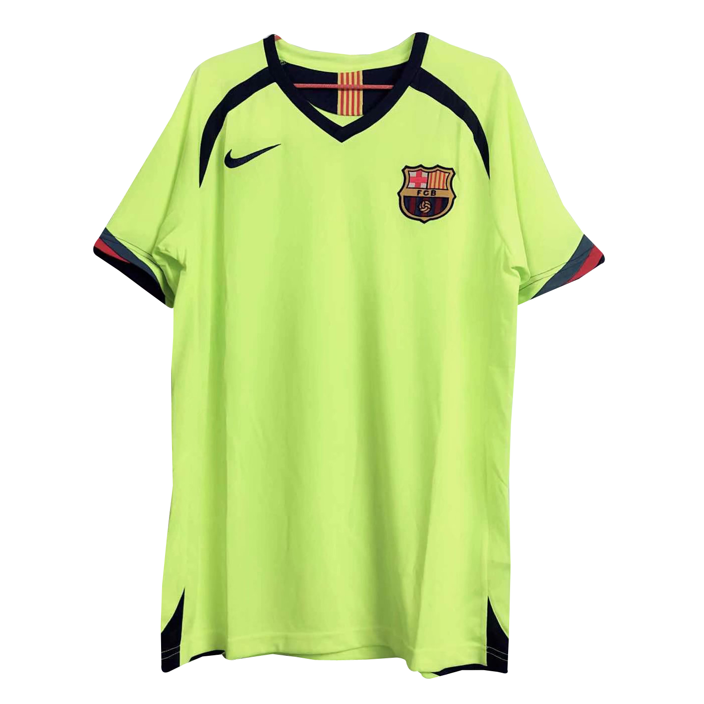85239d474c1 US  17.8 - Barcelona Retro Away Jersey Men s 2005 06 - www.fcsoccerworld.com
