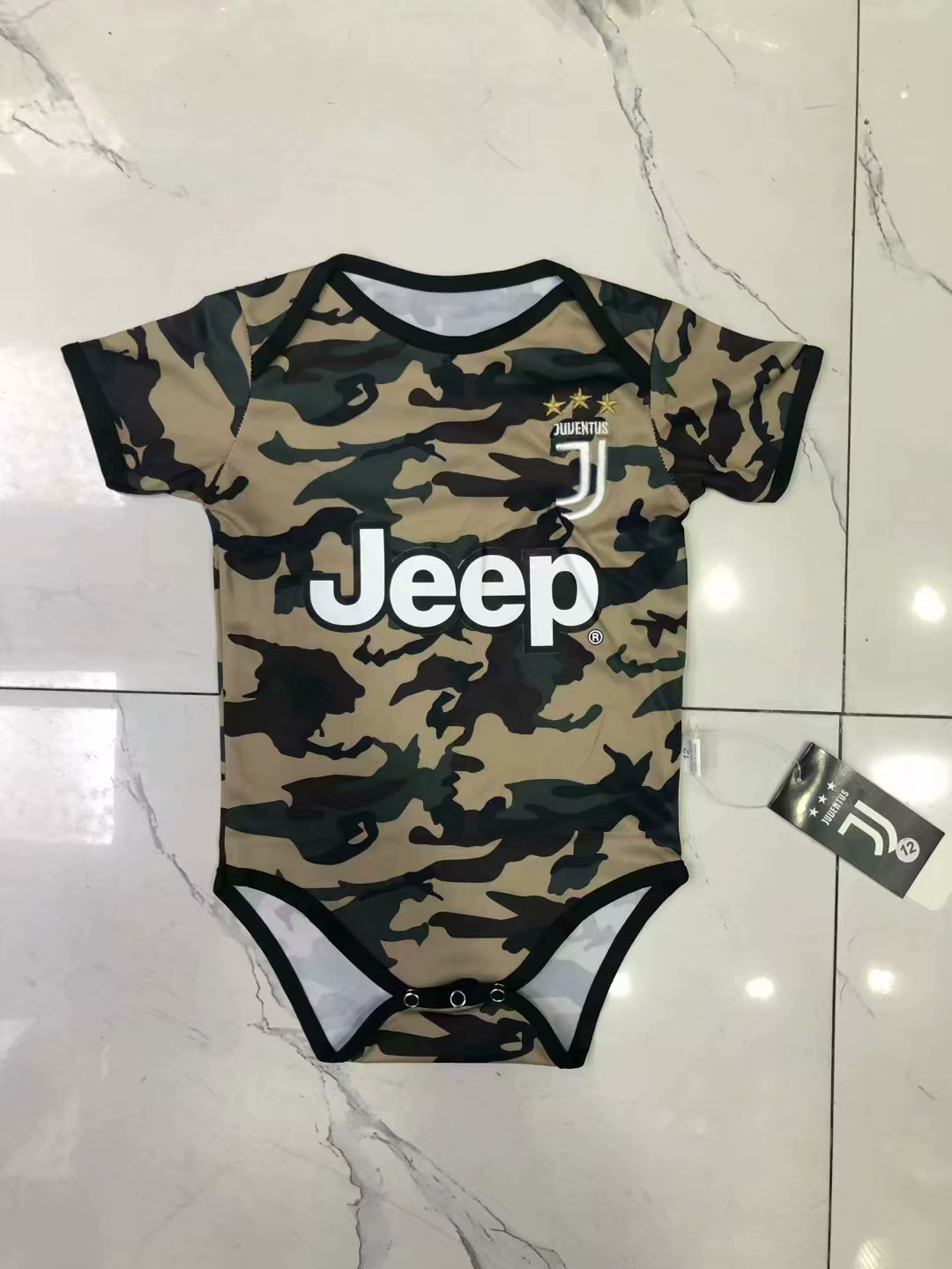 reputable site a8b7d 66118 Juventus Camouflage Jersey Infants 2019