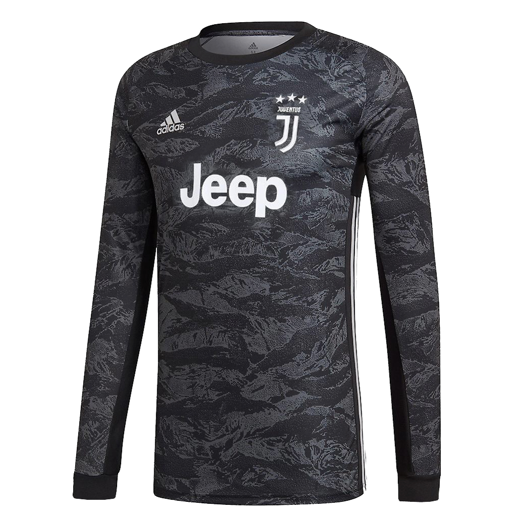 superior quality 6bc63 6c252 Juventus Goalkeeper Black Jersey Long Sleeve Mens 2019/20