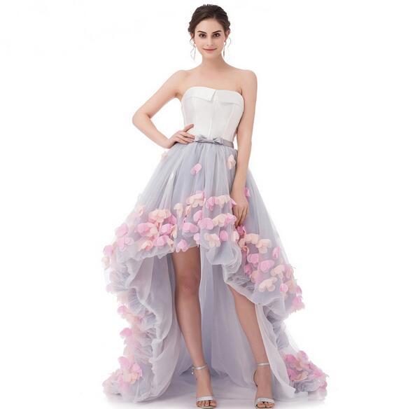 Vestidos Eren Jossie Attractive Short Front Back Long Beautiful ...