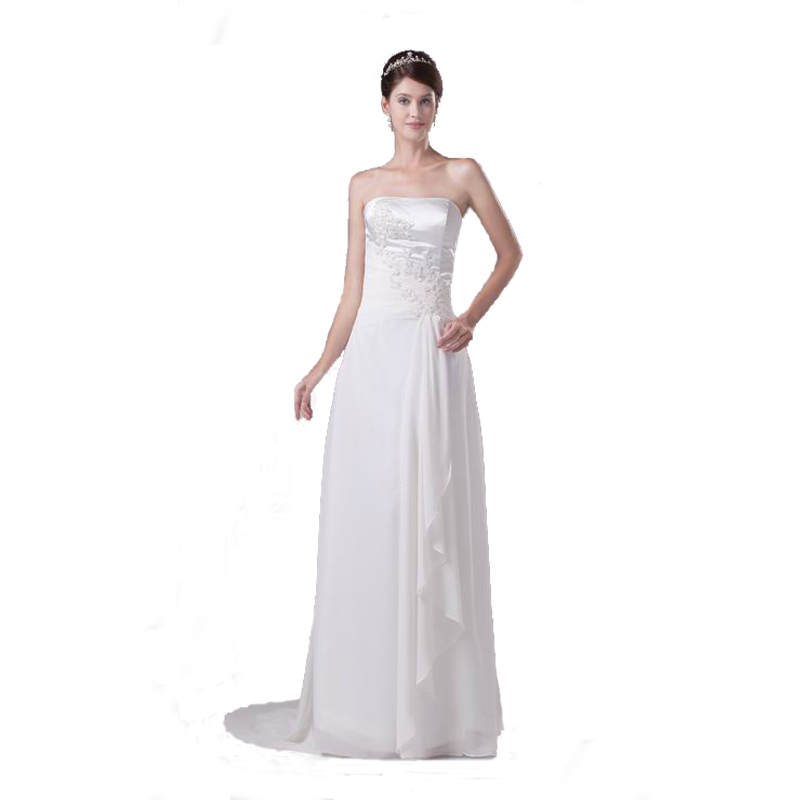 Generous Satin Wedding Gown Images - Wedding Dresses From the Bridal ...