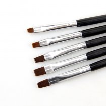 5 Sizes/Set Flat Painting Drawing Pen