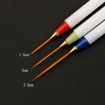 3 Pcs/set Nail Pull Scanning Line Pen