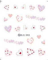 DLS-093-104  Heart Halloween Series Transfer Sticker