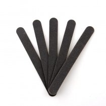 5pcs/lot 178x20x4mm Black And Red Round Thin Nail Art Files