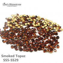 Smoked Topaz Color Point Back Rhinestones