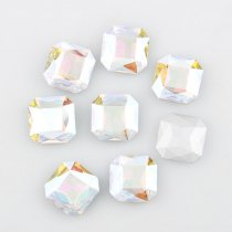 wholesale High Quality Square Octagon Pointback Rhinestone Beads Crystal Clear Glass Fancy Stone DIY Wedding Dress Jewelry Making