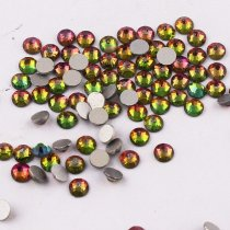 All Sizes Rainbow Color Nail Art Rhinestones Flatback Non HotFix Rhinestone Crystal Loose Strass For Nails DIY