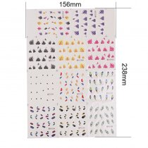1 Sheet(11 designs)Water Transfer Nail Art Sticker