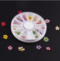 50Sets 36pcs Nail art pressed flowers
